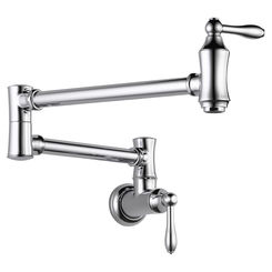 Click here to see Delta 1177LF Delta 1177LF Traditional Wall Mount Pot Filler - Chrome