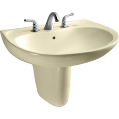 Click here to see Toto LHT241G#03 Toto LHT241G#03 Supreme 23 x 20 Bone Lavatory Sink and Shroud