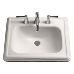 Click here to see Toto LT532#03 Toto lpt532n Bone Promenade Pedestal Lavatory, Sink Only Single Hole