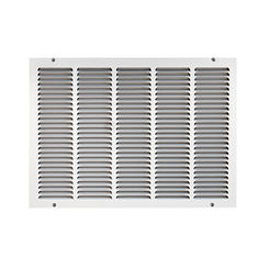 Click here to see Shoemaker 1050-12X20 12x20 Soft White Return Air Grille (Stamped from Cold Roll Steel) - Shoemaker 1050