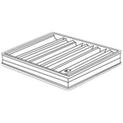 Click here to see Shoemaker 0BD-5X12 5X12 Opposed Blade Damper (Aluminum)-Shoemaker OBD Series