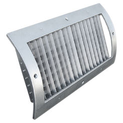 Click here to see Shoemaker RS34-0-10X4G 10X4 White Vent Cover (Galvanized)-Shoemaker RS34-0-GALV Series