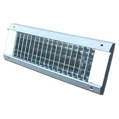 Click here to see Shoemaker USR34-36X4 36X4 White Vent Cover (Galvanized Steel)-Shoemaker USR34 Series