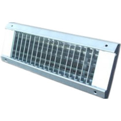 Click here to see Shoemaker USR34-SC-24X3 24X3 White Vent Cover (Galvanized Steel)-Shoemaker USR34-SC Series
