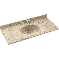 Click here to see Swanstone CH02255.040 Swanstone CH1B2255-040 Chesapeake Bermuda Sand Vanity Top