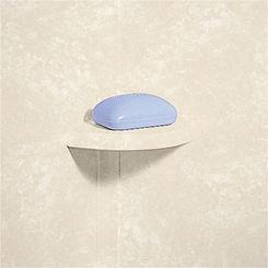 Click here to see Swanstone ES20000.126 Swanstone ES-2-126 Cloud Bone Soap Dishes (2 Per Box)