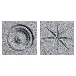 Click here to see Swanstone TC00404.042 Swanstone TC-0404TR-042 Gray Granite Rosettes For Swanstone Panels - 2