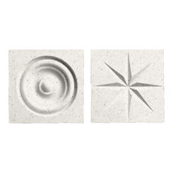 Click here to see Swanstone TC00404.058 Swanstone TC-0404TR-058 Tahiti Matrix Rosettes For Swanstone Panels - 2