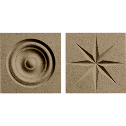 Click here to see Swanstone TC00404.091 Swanstone TC-0404TR-091 Barley Rosettes For Swanstone Panels - 2