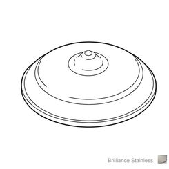 Click here to see Brizo RP52397SS Brizo RP52397SS Hole Cover Assembly, Stainless Steel
