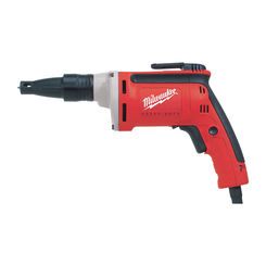 Click here to see Milwaukee 6742-20 Milwaukee 6742-20 Heavy Duty Standard Straight Corded Screwdriver, 120 VAC, 6.5 A, 0.9 hp