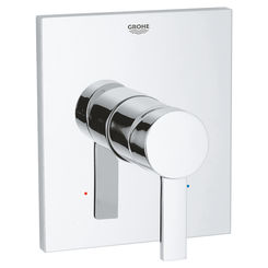 Click here to see Grohe 19375000 Grohe 19375000 Allure Pressure Balance Valve Trim, Starlight Chrome