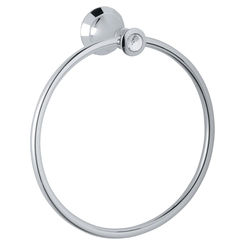 Click here to see Grohe 40222VP0 Grohe 40222VP0 Kensington Towel Ring, Chrome