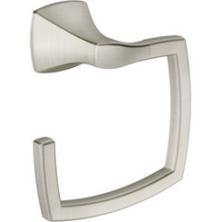 Click here to see Moen YB5186BN MOEN YB5186BN CSI VOSS TOWEL RING BRUSHED NICKEL