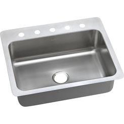 Click here to see Elkay DSESR127225 Elkay DSESR127225 Dayton Stainless Steel Single Bowl Sink