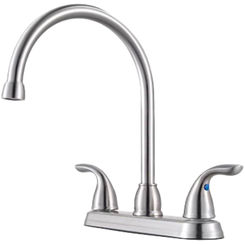 Click here to see Pfister G136-200S Pfister G136-200S Pfirst Two-Handle Kitchen Faucet, Stainless Steel