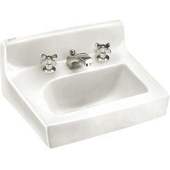 Click here to see American Standard 0373.027.020 American Standard 0373.027.020 Penlyn Wall-Mount Sink, White