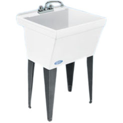 Click here to see Mustee 17F Mustee 17F UTILATUB Laundry/Utility Tub, Floor Mount