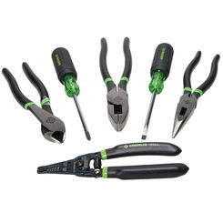 Click here to see Greenlee 0159-36 Greenlee 0159-36 Hand Tool Kit (6 piece)