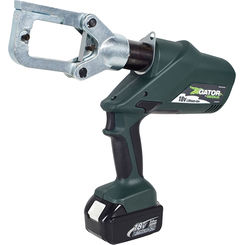 Click here to see Greenlee ECCXL12 Greenlee ECCXL12 Battery-Powered Gator-Pro Crimp Tool (6-Ton)(12V Charger)