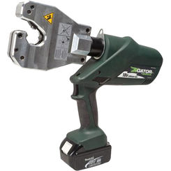 Click here to see Greenlee EK06ATCL12 Greenlee EK06ATCL12 Insulated Dieless Battery-Powered Crimp Tool (12V Charger)