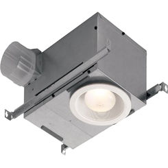 Click here to see Broan 744NT Broan-Nutone 744NT FAN/LIGHT RECESS 75 WATT BULB R30 OR BR30 UL LISTED 70 CFM