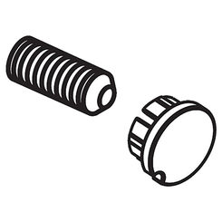 Click here to see Delta RP72564SS Delta RP72564SS Brilliance Stainless Set Screw and Button Kit - Part
