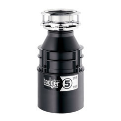 Click here to see Insinkerator BADGER-5 Insinkerator Badger-5 1/2 HP Garbage Disposal Less Cord