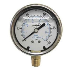 Click here to see American Granby  American Granby ILPG10025-4L Liquid Filled Pressure Gauge, 0-100 PSI