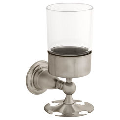 Click here to see Delta 75056-SS Delta 75056-SS Victorian Toothbrush Tumbler in Stainless Steel Finish