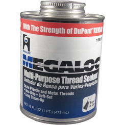 Click here to see Oatey  1 Pint Megaloc Thread Sealant