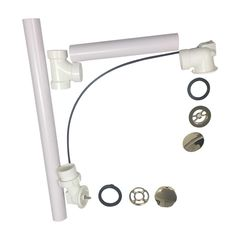 Click here to see Kohler 7213-AF Kohler K-7213-AF Clearflo Cable Bath Drain With PVC Pipe, French Gold