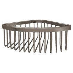 Click here to see Kohler 1896-BV Kohler K-1896-BV Brushed Bronze Corner Shower Basket, Medium