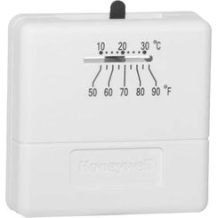 Click here to see Honeywell T812A1010 Honeywell T812A1010 1 Heat Single Stage Digital Round Thermostat