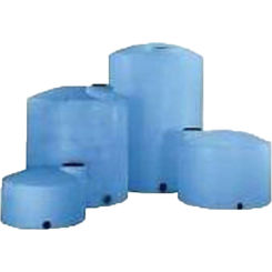 Click here to see Norwesco Fluid 43093 Norwesco 43093 3000 Gallon Vertical Tank Blue - Heavy Duty