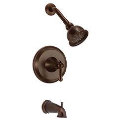 Click here to see Danze D500026BRT Danze D500026BRT Tumbled Bronze Cape Anne Tub/Shower Trim