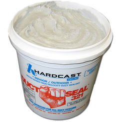 Click here to see Hardcast 304156 Hardcast 304156 1 Gallon Duct Seal 321 Water Based Duct Sealant