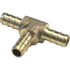Click here to see   3/8 Inch PEX Tee, Brass Construction