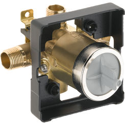 Click here to see Brizo R60000-UNWSHF Brizo R60000-UNWSHF MultiChoice Universal High Flow Shower Rough-In Valve w/ Stops