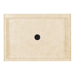 Click here to see Swanstone SF03448MD.128 Swanstone SS-3448-128 Single Threshold Shower Floor, 34