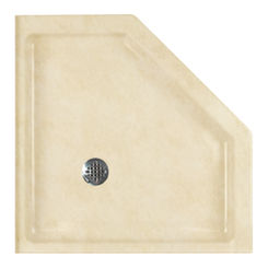 Click here to see Swanstone SN00036MD.128 Swanstone SS-36NEO-128 Neo-Angle Shower Floor, 36