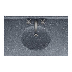 Click here to see Swanstone VT02237.012 Swanstone VT1B2237-012 Ellipse Vanity Top, 37