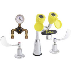 Click here to see Speakman SEF-1800-CA-TW Speakman Sef-1800-Ca-Tw Eyesaver Chrome / Yellow Eye Wash/Faucet Combination