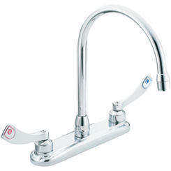 Click here to see Moen 8289 Moen Commercial 8289 Two Handle Kitchen Faucet
