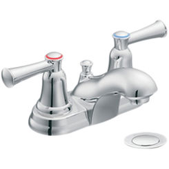 Click here to see Cleveland Faucet 41211 Moen CFG 41211 Two Handle Bathroom Faucet in Chrome