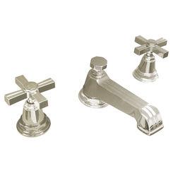 Click here to see Kohler 13132-3B-SN Kohler K-13132-3B-SN Pinstripe Polished Nickel Widespread Bathroom Faucet