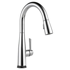 Click here to see Delta 9113T-DST Delta 9113T-DST Chrome Single Handle Pulldown Kitchen Faucet