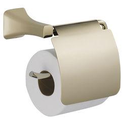 Click here to see Delta 752500-PN Delta 752500-PN Tesla Polished Nickel Toilet Paper Holder