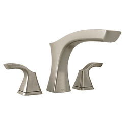 Click here to see Delta T2752-SS Delta T2752-SS Brilliance Stainless Tesla Roman Tub Trim