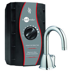 Click here to see Insinkerator HOT-100-C InSinkErator HOT100-C Chrome Invite Instant Hot Water Dispenser